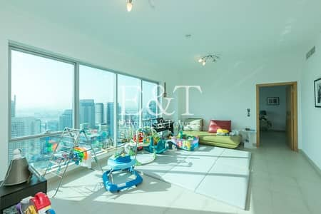شقة 3 غرف نوم للبيع في دبي مارينا، دبي - High Floor 3 Bed | Well Maintained | Don't Miss