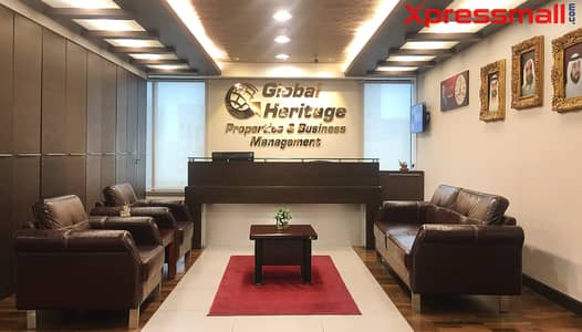 مکتب  للايجار في شارع السلام، أبوظبي - At Salam St. Furnished Offices with Complete Business Setup and Direct From Owner! BOOK NOW!