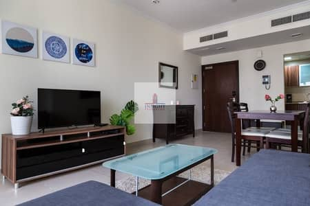 1 Bedroom Apartment for Rent in Jumeirah Lake Towers (JLT), Dubai - LUXURIOUSLY FURNISHED 1 B/R APT NEXT TO METRO