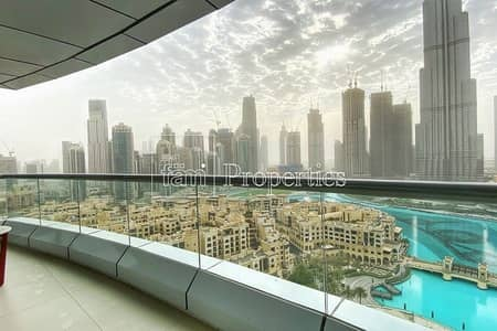 1 Bedroom Hotel Apartment for Rent in Downtown Dubai, Dubai - 02 Panoramic Burj & Fountain View | All inclusive