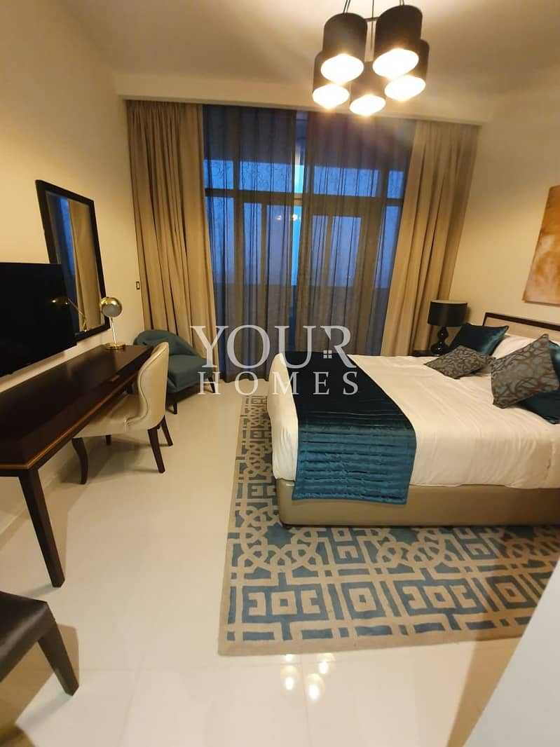 12 SS| INVESTOR DEAL FULLY FURNISHED STUDIO APT FOR SALE IN GHALIA