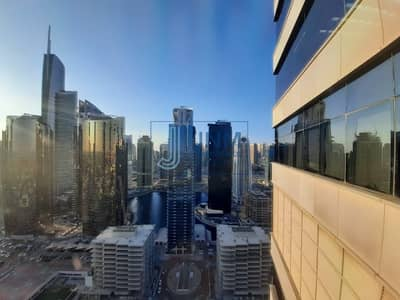 Office for Rent in Jumeirah Lake Towers (JLT), Dubai - |Fully Furnished |partitioned  In Mazaya Bb2