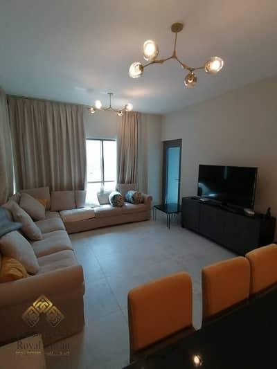 شقة 2 غرفة نوم للايجار في دبي الجنوب، دبي - Large  Size Fully Furnished 2BR for Rent 40k in Mag505