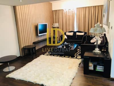 1 Bedroom Flat for Rent in Jumeirah Lake Towers (JLT), Dubai - SH I Well Maintained I Semi Furnished I Wooden floor