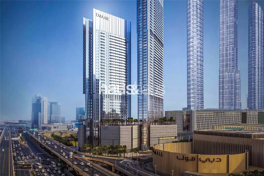Burj Khalifa and Fountain view | 2 yr payment plan