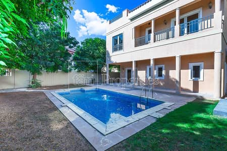 5 Bedroom Villa for Rent in The Villa, Dubai - 5BR W Pool On The Park  Beautiful Garden