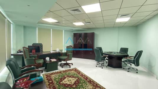 Office for Rent in Business Bay, Dubai - Fully Furnished | Fitted and Partitioned | 5Min Walk To Metro | Regal Tower
