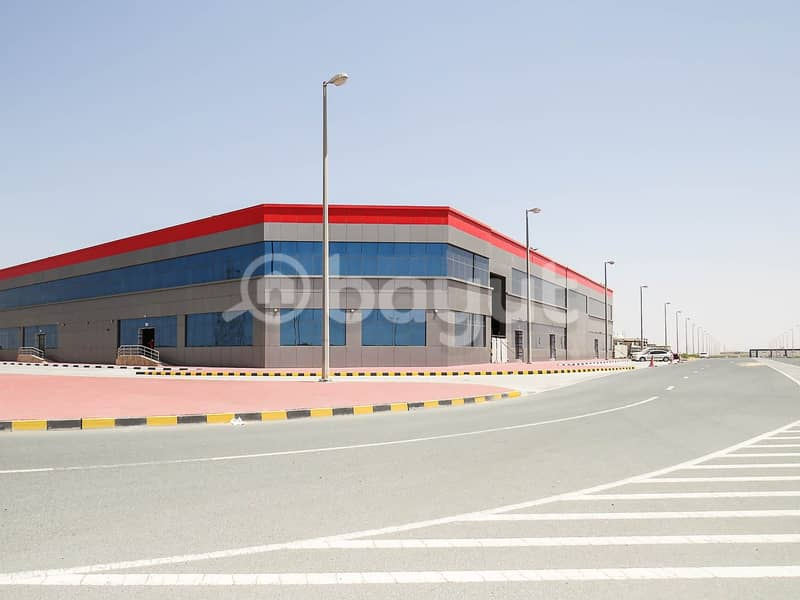 2 Mixed Use  Showrooms & Offices - Rahmaniya Subway - Highway Emirates Road 611 -
