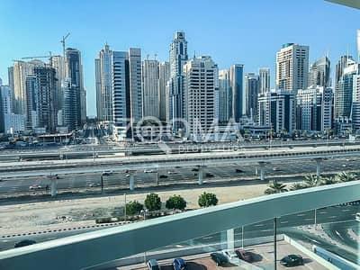 فلیٹ 1 غرفة نوم للايجار في أبراج بحيرات الجميرا، دبي - Well-maintained   Near Metro  Negotiable