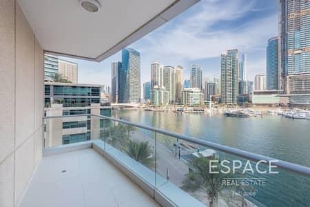 شقة 3 غرف نوم للبيع في دبي مارينا، دبي - Full Marina View | 3 Bedrooms | Vacant