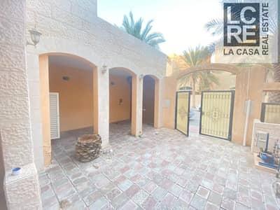 فیلا 4 غرف نوم للايجار في المشرف، أبوظبي - Well Maintained I Extravagant Villa I Ready To Move in