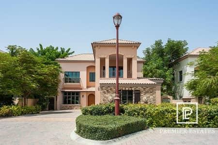 5 Bedroom Villa for Sale in Jumeirah Golf Estate, Dubai - EXCLUSIVE! Vacant 5br