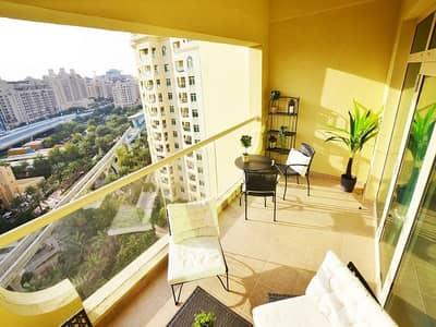 بنتهاوس 1 غرفة نوم للايجار في نخلة جميرا، دبي - بنتهاوس في الشهلاء شقق شور لاين نخلة جميرا 1 غرف 88000 درهم - 4948342