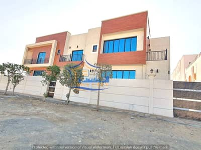 5 Bedroom Villa for Sale in Al Mowaihat, Ajman - Modern villa for sale Luxurious finishes Al Mowaihat Ajman Behind Nesto Corner Street Close to all services and all banking facilities