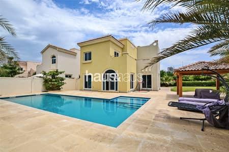 فیلا 4 غرف نوم للايجار في مدينة دبي الرياضية، دبي - Exclusive   Huge Corner Plot   Private Pool