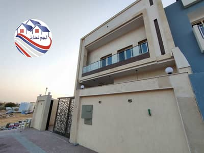 4 Bedroom Villa for Sale in Al Helio, Ajman - Freehold, all nationalities, attractive specifications, modern design, personal finishing, for those with high taste, Al helio area