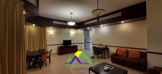 2 Bedroom Flat for Rent in Ain Al Faydah, Al Ain - Furnished 2Bedrooms Resort for monthly/yearly