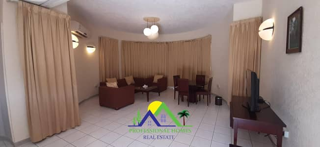 1 Bedroom Flat for Rent in Ain Al Faydah, Al Ain - 1Bedroom gym&pool Resort for monthly/yearly