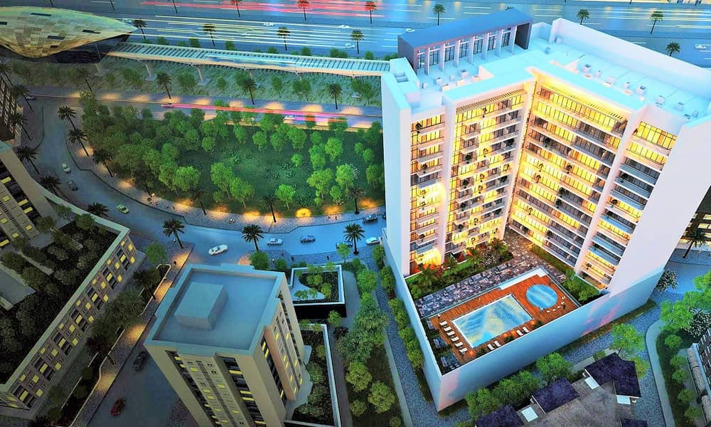 1% Monthly - Downtown Jebel Ali   Furnished   Next to Metro on Sheikh Zayed Road