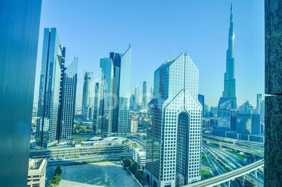 5*Shangri-la hotel / Burj Khalifa view