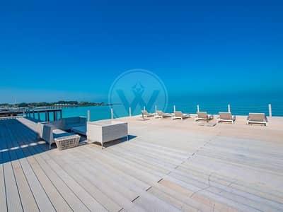 فیلا 4 غرف نوم للبيع في جزيرة نوراي، أبوظبي - Contemporary luxury directly on and over the sea!