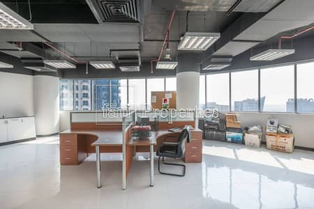 Office for Rent in Business Bay, Dubai - Fitted with Large Windows | Full Lake View