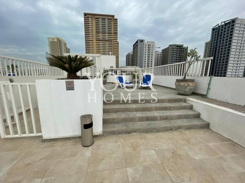 12 SS| Large Studio Apt With Balcony For Rent In Shamal