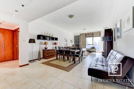 فلیٹ 2 غرفة نوم للايجار في أبراج بحيرات الجميرا، دبي - High floor   2 bed apt   Vacant from 28 March