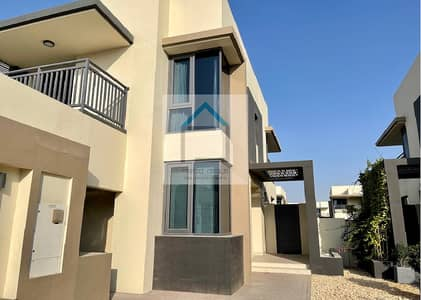 5 Bedroom Townhouse for Rent in Dubai Hills Estate, Dubai - Single Row 5BR+Maid on Green Belt @ Maple 1