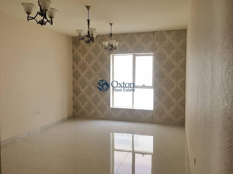 Elegant 2-BHK Apartment Balcony Master Room Wardrobe In Muwaileh