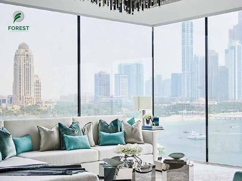 Amazing Sea View | 4BR Simplex  | Deluxe Living