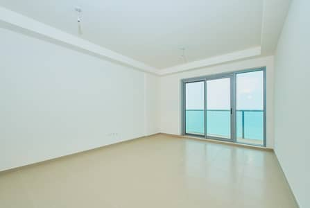 1 Bedroom Apartment for Rent in Al Marjan Island, Ras Al Khaimah - Full Sea View 1 Bedroom Apartment- Chiller Included