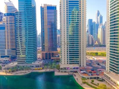 1 Bedroom Flat for Rent in Jumeirah Lake Towers (JLT), Dubai - BEAUTIFUL FURNISHED I FULL LAKE  I 1 MONTH FREE
