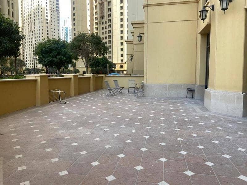 Rare unit/ Terrace apartment/ 1BR+ storage/Vacant
