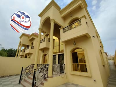 5 Bedroom Villa for Sale in Al Mowaihat, Ajman - The second piece of the main street, Super Deluxe, freehold all nationalities