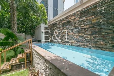 فیلا 4 غرف نوم للبيع في دبي مارينا، دبي - Upgraded and Roof Top Villa with Garden and Pool
