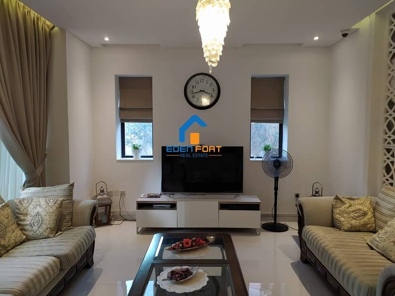 Amazing Offer Fully Furnished 5Br+Maid Villa