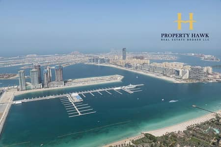 4 Bedroom Apartment for Rent in Dubai Marina, Dubai - FULL SEA VIEW 4BR CHILLER FREE HIGH FL   AVAILABLE