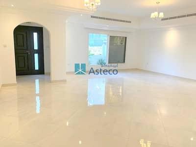 فیلا 5 غرف نوم للايجار في قرية جميرا الدائرية، دبي - 5BR Corner Villa | 3 Sided Garden | Terrace