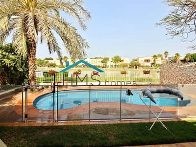 3 Bedroom Villa for Rent in The Springs, Dubai - 1E WITH PRIVATE POOL AND LAKE VIEW!
