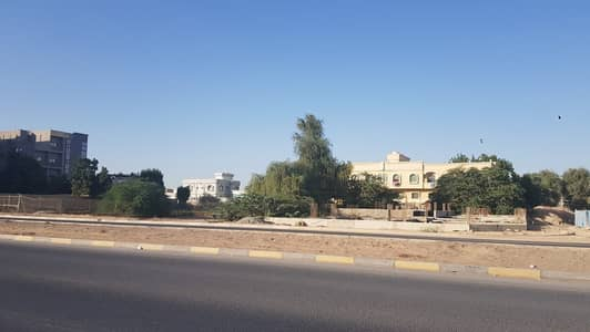 Plot for Sale in Al Mowaihat, Ajman - 13455 SQ FT 2 SIDES CORNER 3 SIDES ROAD FANTASTIC LOCATION NEAR ROYAL FURNITURE  SAME ROAD IN MOWHIYAT 3
