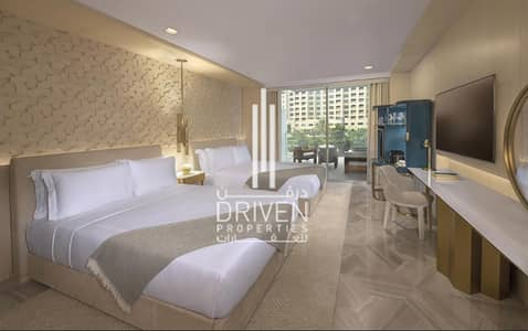 3 Bedroom Apartment for Sale in Palm Jumeirah, Dubai - AMAZING 3 BR| POOL VIEW |FULLY FURNISHED