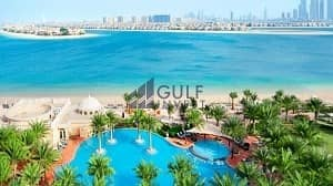 Spectacular sea view! Luxury 2 Br Apt . Reside in 5* Hotel Facility on the Palm