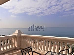 2 Spectacular sea view! Luxury 2 Br Apt . Reside in 5* Hotel Facility on the Palm