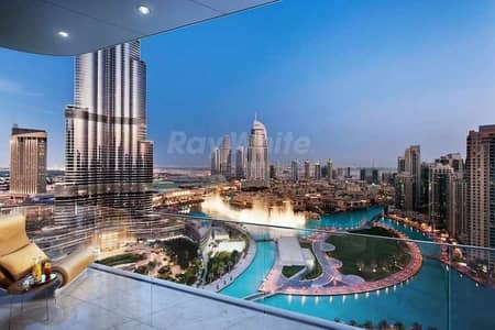 3 Bedroom Apartment for Sale in Downtown Dubai, Dubai - Corner Luxury Unit with Stunning Burj Khalifa View