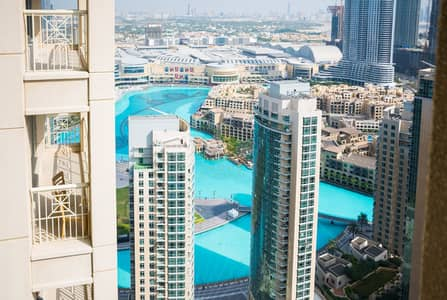 1 Bedroom Flat for Rent in Downtown Dubai, Dubai - On High Floor | Spacious 1BR | Panoramic City View