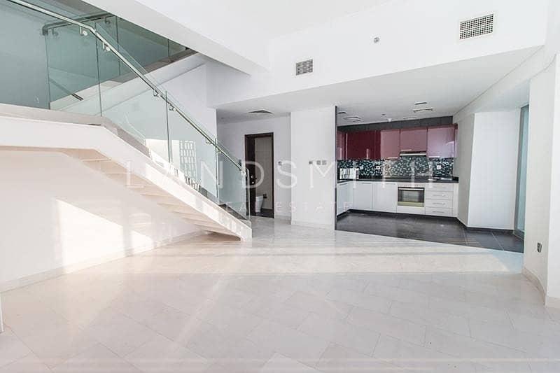 2 Stunning views 1BR High Floor Duplex Apartment
