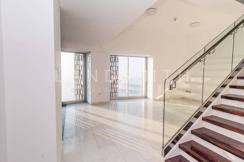 10 Stunning views 1BR High Floor Duplex Apartment