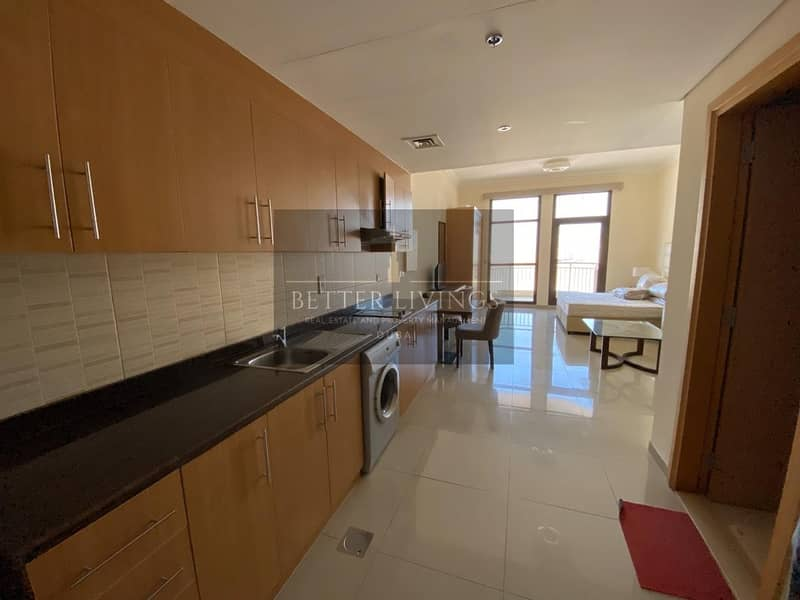 2 SPACIOUS |  FULLY FURNISHED STUDIO | CHILLER FREE