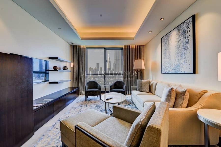 FULL BURJ KHALIFA VIEW | LUXURY 1 BEDROOM | FOUNTAIN VIEWS